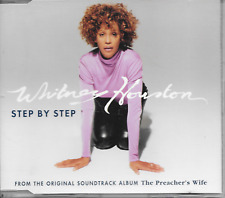 WHITNEY HOUSTON - Step by step CDM 4TR Europe release 1996 (ARISTA)