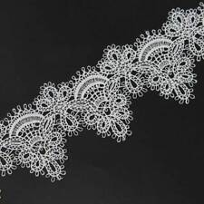 2 Yards Vintage Lace DIY Sewing Crafts Embroidered Lace Trim off-White or Black