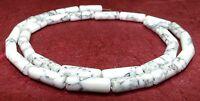 Howlith Perlen Doppelherz 40 cm Strang viele Farben Stein Halbedelstein Perlen