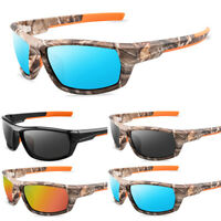 Camouflage Polarized Fishing Sunglasses Goggles Outdoor Sports Glasses Eyewear