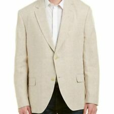 Kroon Men's Linen Taylor Two Button Sport Coat 42R NWT