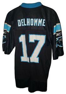 Reebok Carolina Panthers Jake Delhomme #17 Jersey NFL On Field Football Men's M