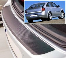 Vauxhall-Opel Vectra GTS - Hatchback - Carbon Style rear Bumper Protector