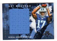 DORIAL GREEN-BECKHAM NFL 2015 GRIDIRON KINGS ART NOUVEAU MATERIALS (TITANS)