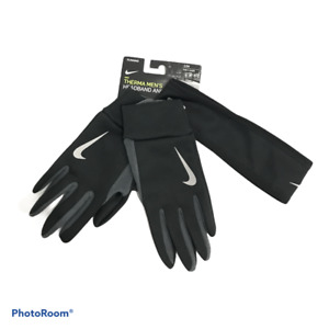 NIKE Men's Running Therma Headband/Gloves Set  S/M New