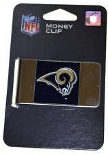 NFL St. Louis Rams Steel Money Clip