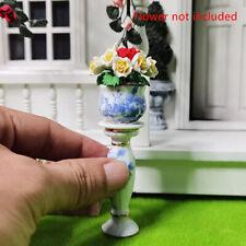 Dollhouse Miniature 1:12 DIY Garden Rome ceramics Flower Pot Exterior Decor W&LI