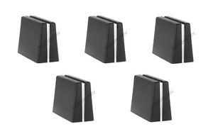 5 x REPLACEMENT DAC2371 PIONEER KNOB FADER CROSSFADER DJM800 DJM700 DJM400 & 900