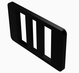 Ladder Style Belt Buckle Plastic Nylon No Hole Leather Belts