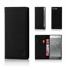 32nd Classic Series - Real Leather Book Wallet Case for Sony Xperia XZ Premium Black Sny.xzprem.32ndclassic-black