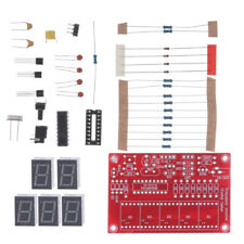 Crystal Oscillator Frequency Counter Meter Kits 1hz 50mhz 5 Digits