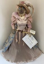 Katherine's Collection Wayne Kleski Retired Dyana Victorian Cat Doll