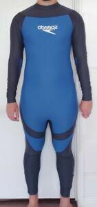 Speedo full body suit swimskin skinsuit Surfing Rash Guard lycra spandex L mens