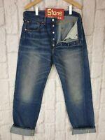 Levis Vintage Clothing LVC Blue 1947 501 Cone Selvedge Jeans W28 L34 £265 New