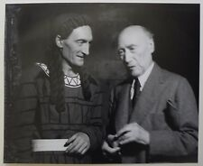 Photo Agnes Varda - André Gide Jean Vilar - Oedipe - Avignon 1949 - Théâtre -
