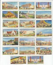 Lot of 20 Vintage Empire Exhibition Cards Glasglow Scotland from 1938