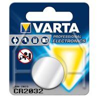 VARTA 2032 Lithium Batterie CR 2032 Knopfzelle 230mAh 3V im Blister Knopfzellen