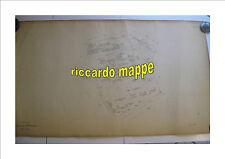 ROMA Mappa Catastale 462 GIANICOLENSE PORTUENSE OSPEDALE SAN CAMILLO 1943