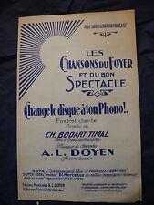Partition Cambio L'unità di ton phono! Bodart Prachanda Al Dean Music Sheet