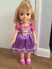 Disney Princess Tangled Rapunzel Tollytots Doll Not Animator Lights Up Sings
