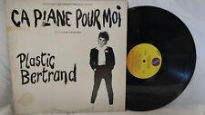 Plastic Bertrand LP Ca Plane Pour Moi Sire Promo Punk Rare US Pressing 1978 NM
