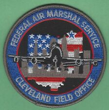 UNITED STATES FEDERAL AIR MARSHAL CLEVELAND OHIO FIELD OFFICE SHOULDER PATCH