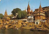 BT13287 Bathing ghats river ganga India         India