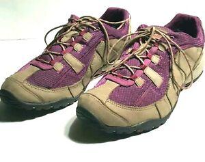 L.L.Bean Tek 2.5 Low All Terrain Trail Hiking Walking Sneakers Womens 10 M Tan
