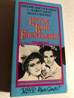 LITTLE LORD FAUNTLEROY, FREDDIE BARTHOLOMEW, MICKEY ROONEY, VHS, MOVIE GREATS