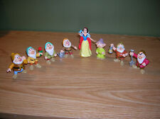 Snow White & 7 Dwarfs Disney Applause Figurines