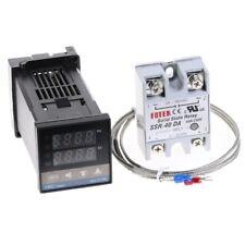 Digital Pid Temperature Controller 100 240vac 40a Ssr K Thermocouple Sensor
