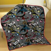 Power Rangers Ninja Steel Extra Soft Fleece Blanket for Children Boys Warm Throw