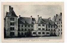 MOULINS LES METZ  Moselle CPA 57 Quartier serret Cour de verdun 7
