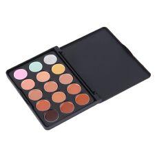 NEW 15 Color Face Creamy Concealer Hide Blemish Make-up Concealer Cream Set AL