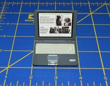 """1:6 scale Silver Laptop Toy for 12"""" Action Figures C-177"""