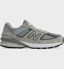 New Balance Men's 990 v5 Shoes NEW AUTHENTIC Grey/White M990GL5
