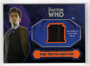 Topps Doctor Who 2015 Tenth Doctor Suit Costume Card - Stripe Variant