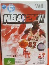 Wii NBA 2K11