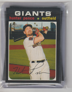2020 Topps Heritage High Number San Francisco Giants Team Set With SP