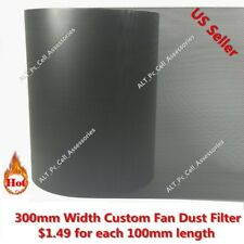 300mm Width Mesh Fan Filter Custom for 60mm 80mm 120mm 140mm 200mm 240mm 280mm