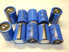 NIPPON 1200UF 200V SNAP IN ALUMINUM ELECTROLYTIC CAPACITORS - YOU GET 10 PIECES