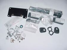 NEW BMW 95-01 R1100 POLICE FOOT PEGS HELMET LOCK AND HARDWARE ASSY COMPLETE
