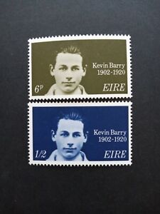 Ireland Stamps 1970 mnh Set. Kevin Barry.   76C.