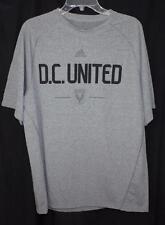 Adidas Men's Shirt ClimaLite DC United Soccer Club Shirt Football Grey Sports  M