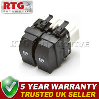 Electric Double Window Control Switch Button Rear Fits Renault