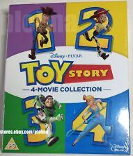 Toy Story 1-4 Brand New 4-Movie Blu-Ray Collection 4 Films Disney Pixar 1 2 3 4