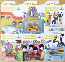 1/64 HOT WHEELS CAR THE BEATLES  YELLOW SUBMARINE SET OF 6