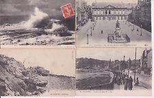 Lot 4 cartes postales anciennes LE HAVRE