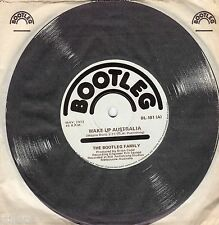 THE BOOTLEG FAMILY Wake Up Australia *AUSTRALIA ORIGINAL 70s SINGLE*