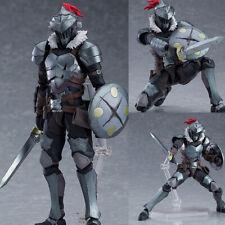 New Anime Goblin Slayer Adventurer Hunter Figma 424 PVC Figure